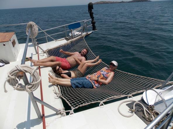 Lake Kivu cruise