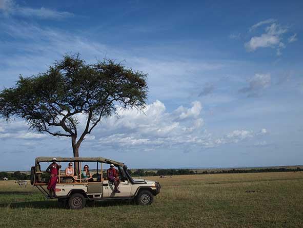 Masai Mara in Kenya