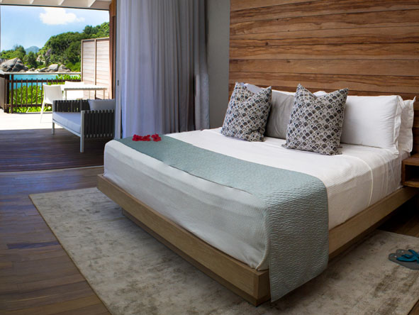 private beach-chic suite