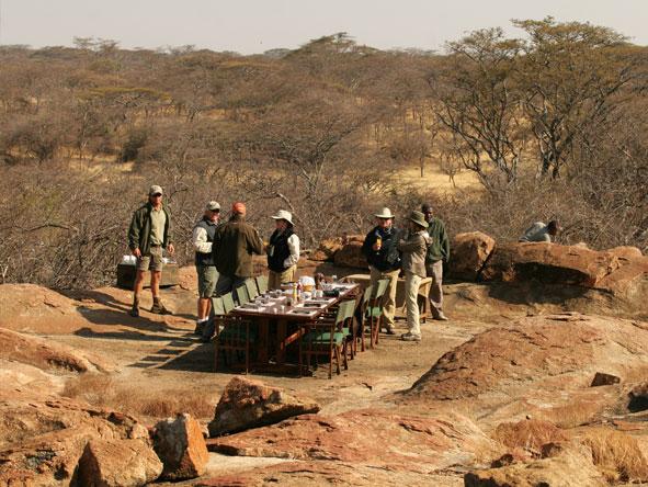 Mwiba tented camp