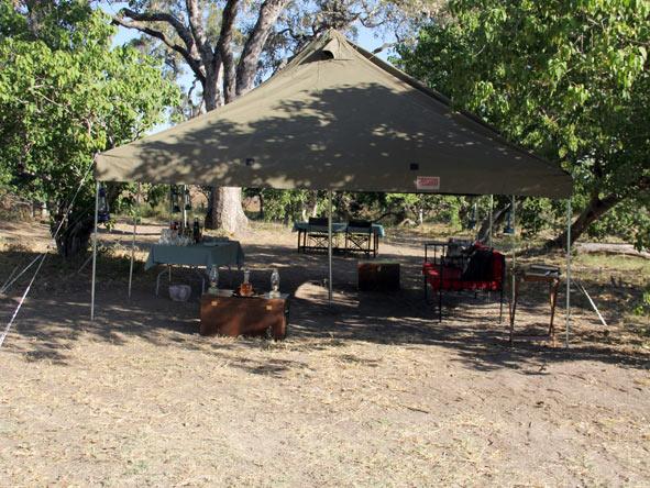 Harkness camping & Camp Okavango