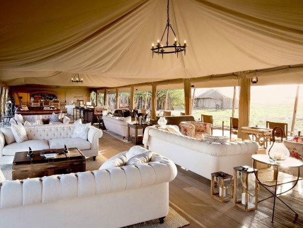 Lounge Nyuraswiga Safari Camp