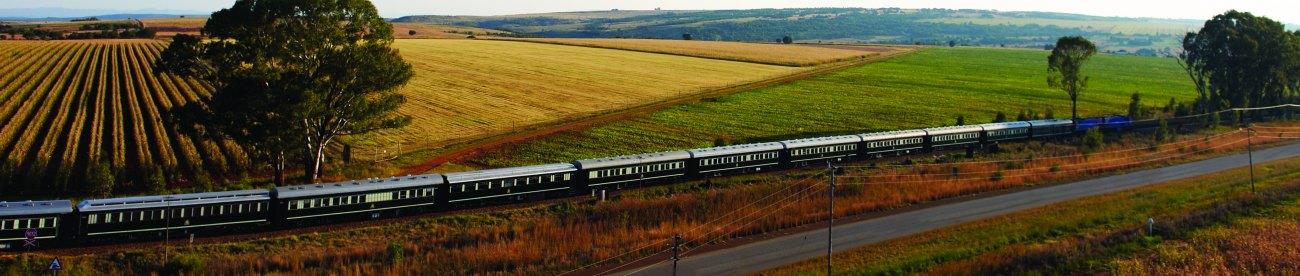 luxury train travel