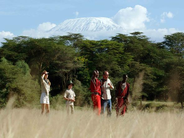 Amboseli Serena Safari Lodge - Walking Safari
