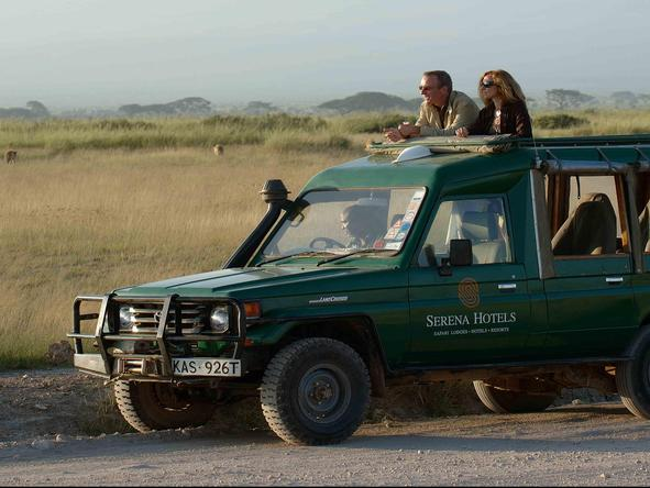 Amboseli Serena Safari Lodge - Game Drive