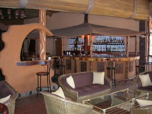 Amboseli Sopa Lodge - Bar