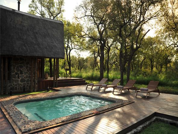 Black Rhino Game Lodge - Pool
