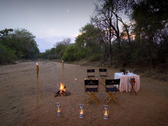 Camp Jabulani - Romantic Dinner