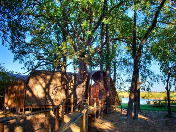 Camp Okuti - suite exterior