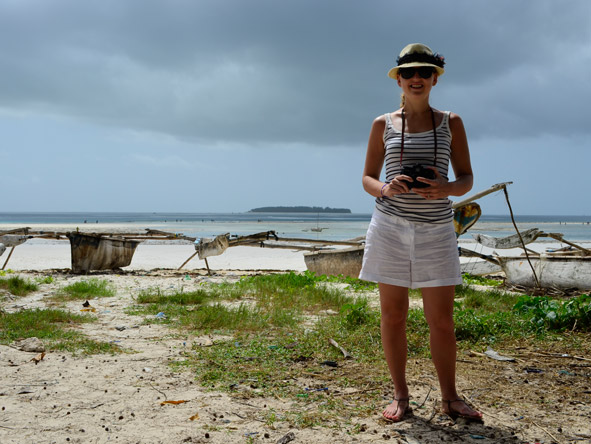 Carlien Parsons - discovering the beauty of Zanzibar in the Indian Ocean