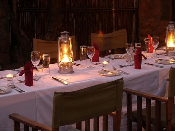 Chapungu Tented Camp - Dining