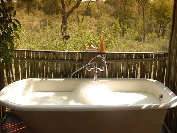 Chapungu Tented Camp - Bathroom