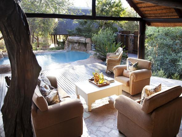 Chapungu Tented Camp - Lounge