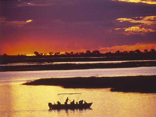 Chobe Chilwero - boat excursions on the Chobe River