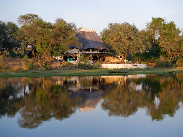 Chongwe River House - Location
