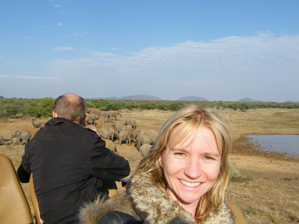 Christine Mischker - on safari in the Eastern Cape