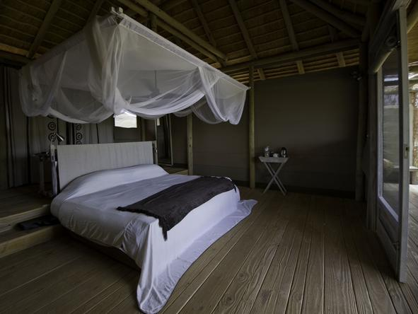 Damaraland Camp - bedroom with deck