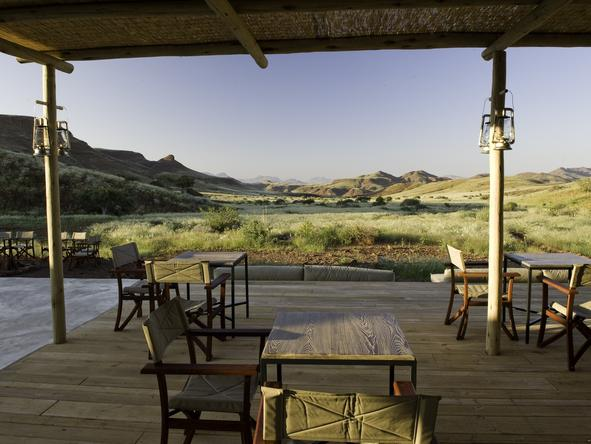 Damaraland Camp - morning views