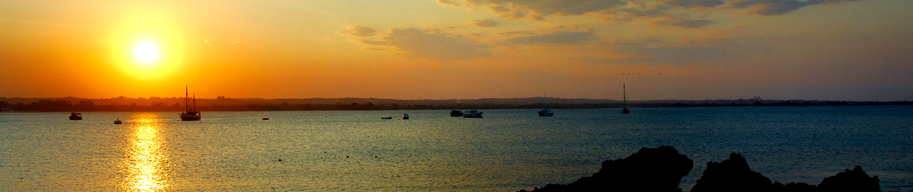 Dar es Salaam - Tanzania's international gateway city is famous for its Indian ocean sunsets and romantic dhow cruises.