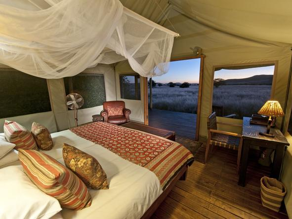 Desert Rhino Camp - Bedroom