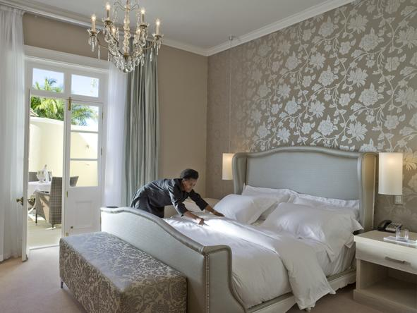 Dock house boutique hotel spa cape town for Boutique bedroom designs