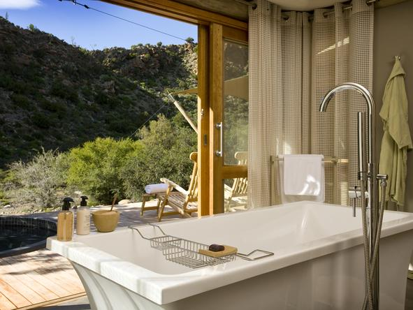 Dwyka Tented Lodge - Bathroom