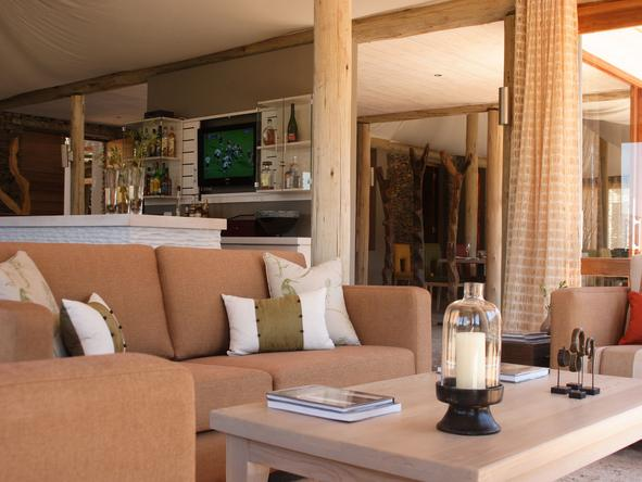 Dwyka Tented Lodge - Lounge