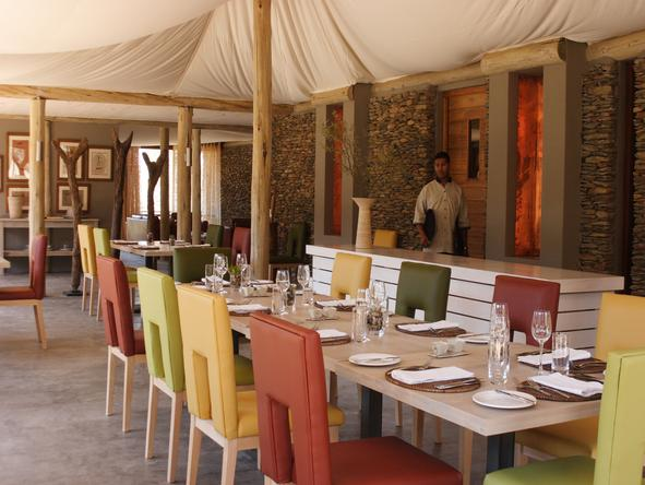 Dwyka Tented Lodge - Restaurant