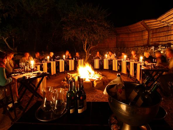 Eagles Crag - Boma Dinner