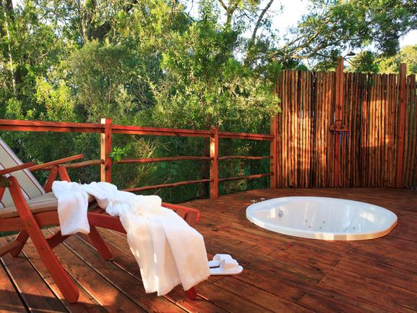 Elephant Safari Lodge - Jacuzzi