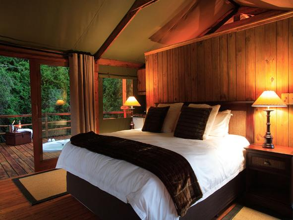 Elephant Safari Lodge - Bedroom