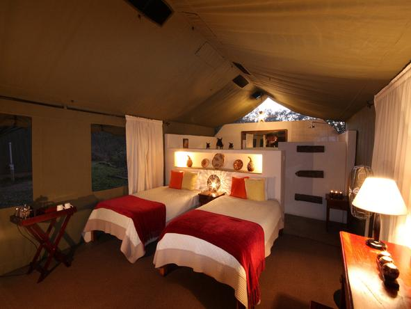 Elephant Valley Lodge - Bedroom