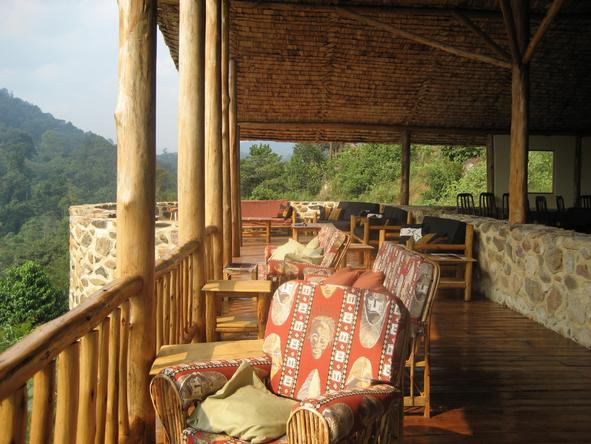 Engagi Lodge - Deck