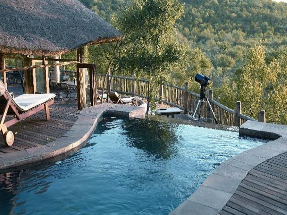 Etali Safari Lodge - Pool
