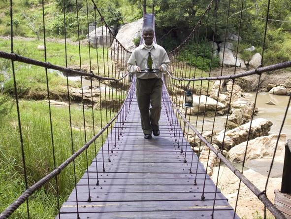Exeter Dulini Private Game Lodge - Hanging Bridge