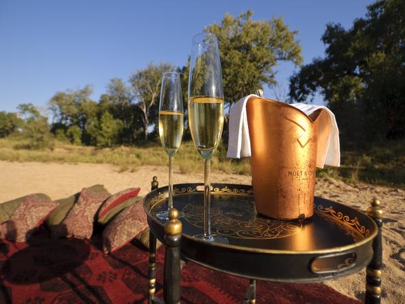 Exeter Dulini Private Game Lodge - Champagne