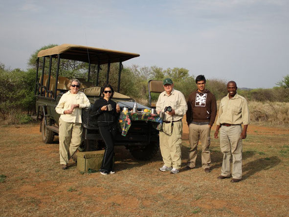 Fatima Davids - out on safari in the Eastern Cape