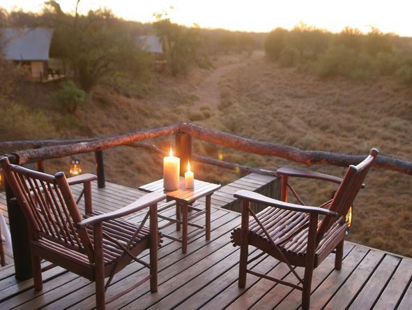 Garonga Safari Camp - Private Deck