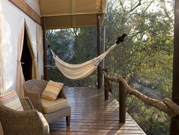 Garonga Safari Camp - Private Deck2