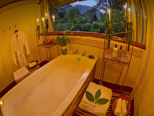 Gorilla Forest Camp - Bathroom1