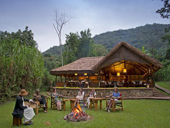 Gorilla Forest Camp - Boma