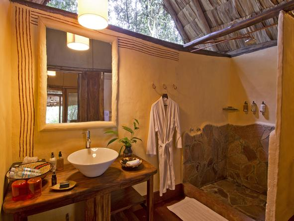 Gorilla Forest Camp - Bathroom