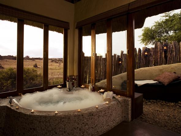 Hlosi Game Lodge - Bathroom