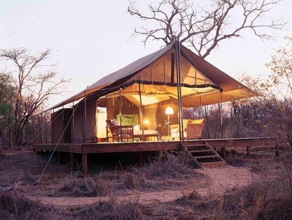 Honeyguide Mantobeni Tented Safari Camp - Camp
