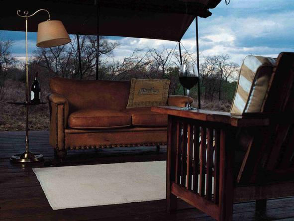 Honeyguide Mantobeni Tented Safari Camp - Private Deck