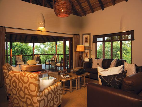 Impodimo Game Lodge - Lounge