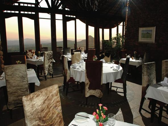 Isandlwana Lodge - Restaurant