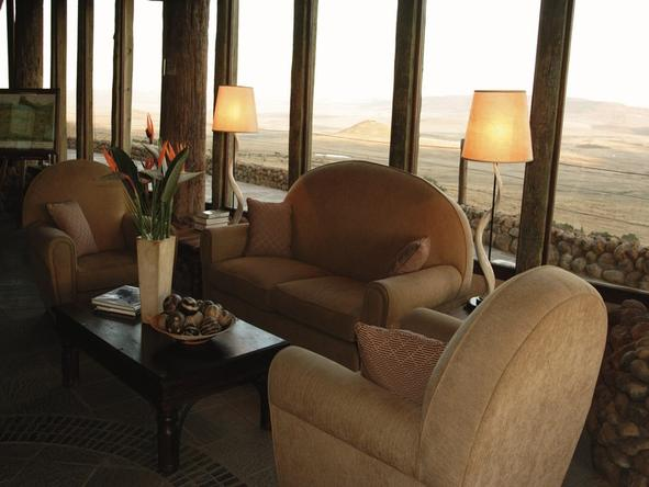 Isandlwana Lodge - Lounge