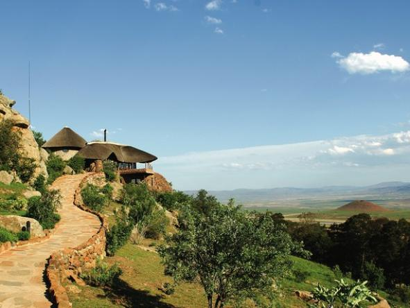 Isandlwana Lodge - Location