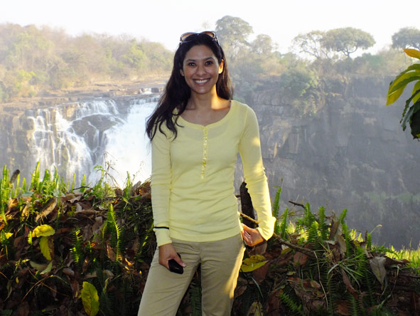 Jehan Begg - trip of a lifetime to Victoria Falls